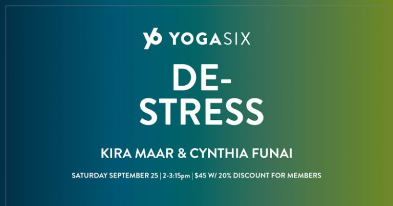 YogaSix De-Stress Event